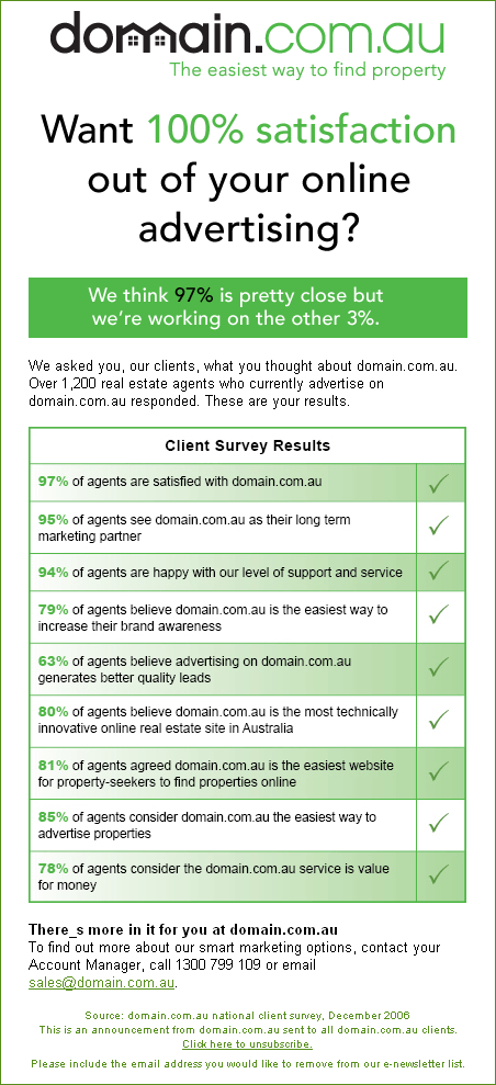 Domain Survey