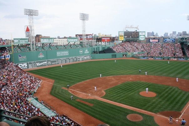 Boston Redsox Game at the Famous Fenway Park