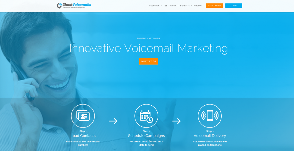 GhostVoicemails voice message marketing