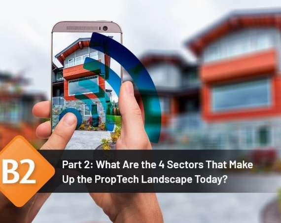 proptech landscape sectors